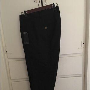 ELOQUII Kady double weave black size 22 Short NWT